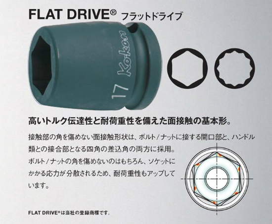 インパクトフラットドライブ